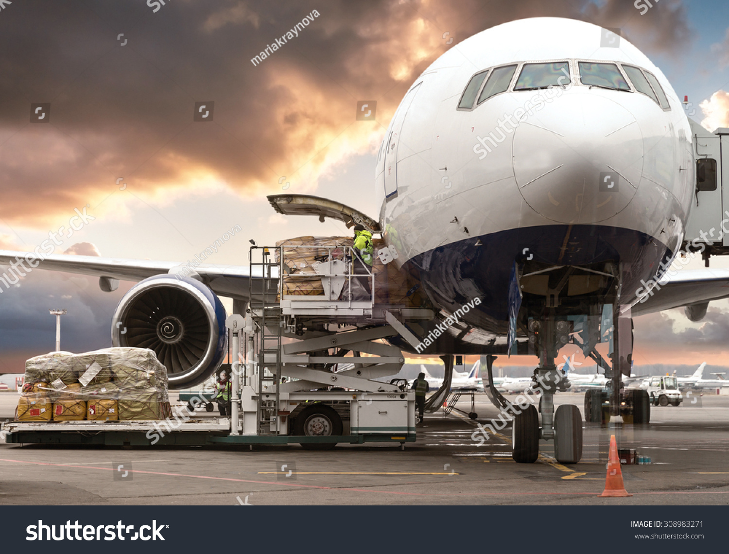 stock-photo-loading-cargo-on-the-plane-in-airport-view-through-window-308983271